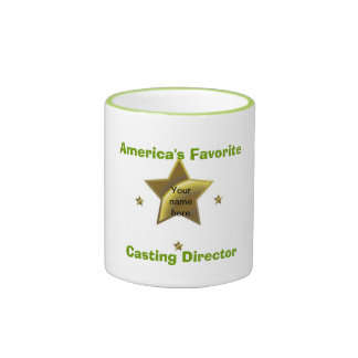 Personalized: America's Favorite Casting Director Mug