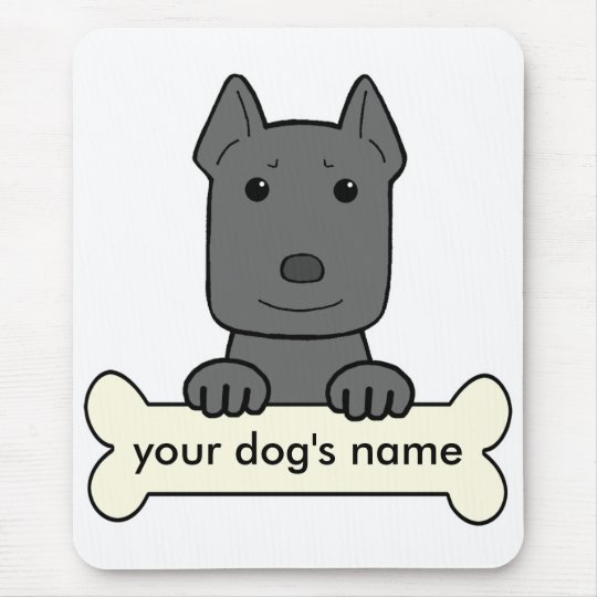 Personalized Amstaff Mouse Pad