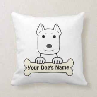 Personalized Amstaff Pillow