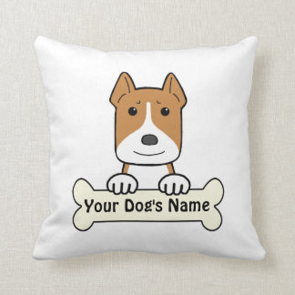 Personalized Amstaff Throw Pillows