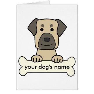 Personalized Anatolian Shepherd Greeting Card