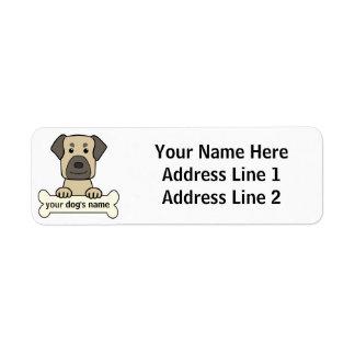 Personalized Anatolian Shepherd Return Address Label