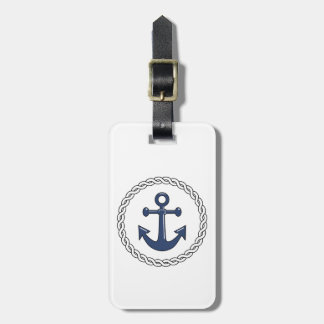 Personalized Anchor Travel Bag Tag