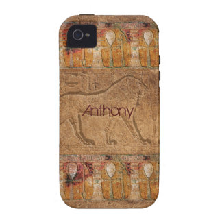 Personalized Ancient Egyptian Art iPhone 4 Case