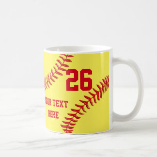 Personalized and Cheap Softball Gifts for Players Coffee Mug