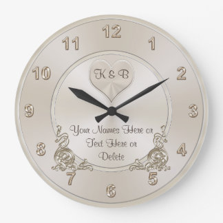 Personalized and Unique Bridal Shower Gifts CLOCK