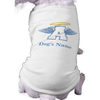 Personalized Angel dog t-shirt
