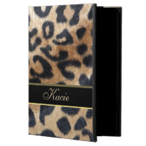 Personalized Animal Leopard Print iPad Air 2 Case