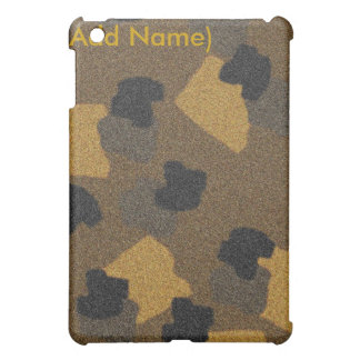 Personalized Animal Print Textured iPad Cover
