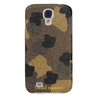 Personalized Animal Textured  Galaxy S4 Covers