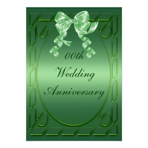 Personalized Anniversary Party Invitation