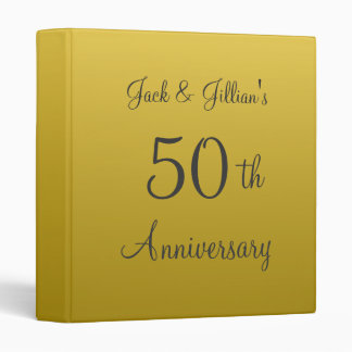 Personalized Anniversary Scrapbook Binder
