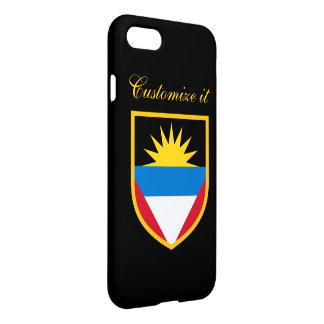 Personalized Antigua and Barbuda Flag iPhone 8/7 Case