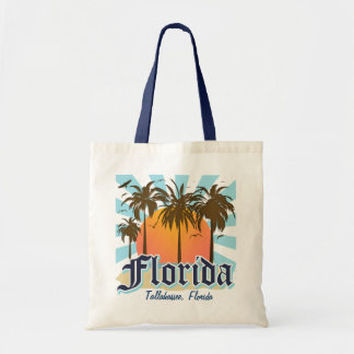 Personalized Any City Beach Florida Tote Bags