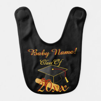 Personalized ANY Class Year Baby Bib
