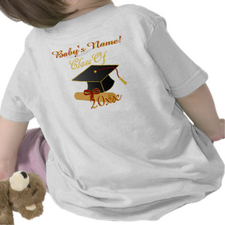 Personalized ANY Class Year Infant T-Shirt, White