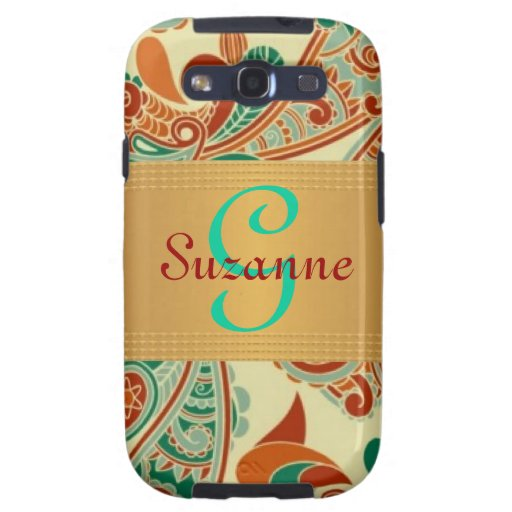 PERSONALIZED (ANY NAME) Elegant Case - Galaxy S3 Galaxy S3 Cover