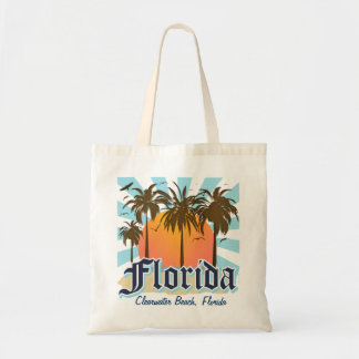 Personalized Any Town Florida Canvas Bags