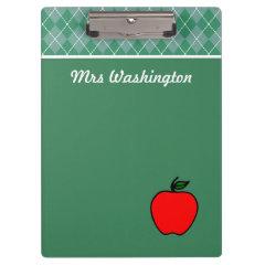 Personalized Apple Clipboard