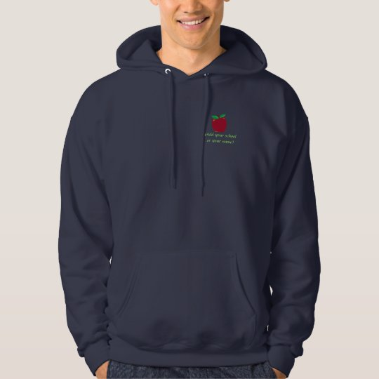 Personalized Apple Hooded Sweatshirt
