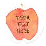 Personalized Apple sticker