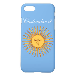 Personalized Argentina Flag iPhone 8/7 Case