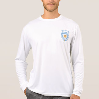 Personalized Argentina Jersey Micro-Fiber Long Sle Tshirt