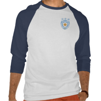 Personalized Argentina Sport Jersey 3/4 Sleeve Rag T Shirts