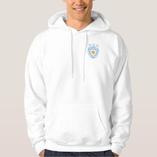 Personalized Argentina Sport Jersey Hooded Sweatsh Hoodie
