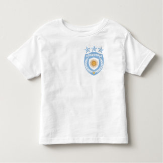 Personalized Argentina Sport Jersey Toddler T-Shir Toddler T-shirt