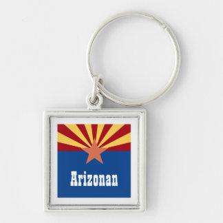 Personalized Arizona keychain