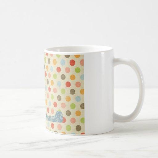 Personalized Art Letter L Coffee Mug