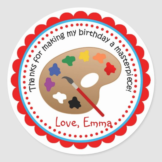 Personalized Arts & Crafts Stickers