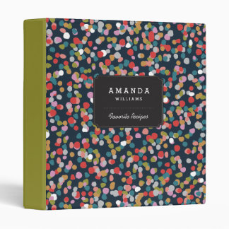 Personalized | Ashley Dots Binder