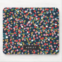 Personalized | Ashley Dots Mouse Pad