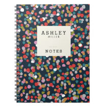 Personalized | Ashley Dots Notebook