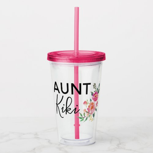 Personalized Aunt Cup