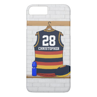 Personalized Aussie Rules Football Jersey BRY iPhone 8 Plus/7 Plus Case