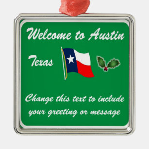 Austin Texas Ornaments & Keepsake Ornaments | Zazzle