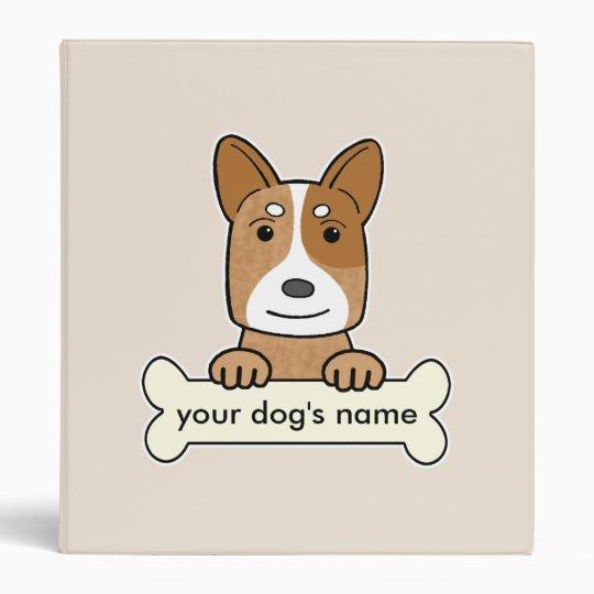 Personalized Australian Cattle Dog Binder