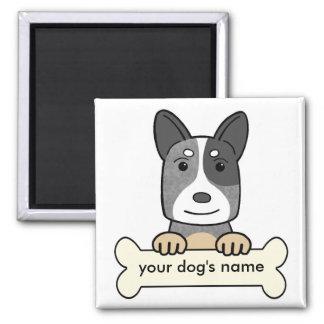 Personalized Australian Cattle Dog Magnet