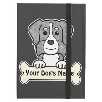 Personalized Australian Shepherd iPad Air Covers