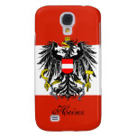 Personalized Austria Flag Samsung Galaxy S4 Cover