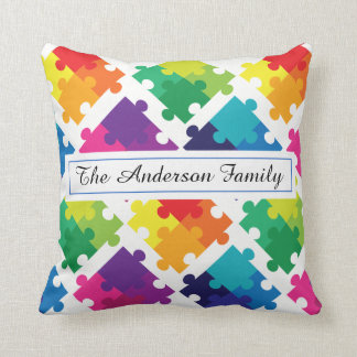 Personalized Autism Awareness Pillow