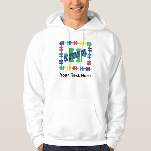 Personalized Autism Awareness Puzzle Piece Hoodie