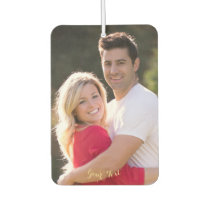Personalized Auto Decor Family Kids Baby Photo DIY Air Freshener