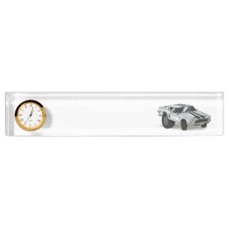 Personalized Auto Mechanic or Auto Body Deskplate Name Plate