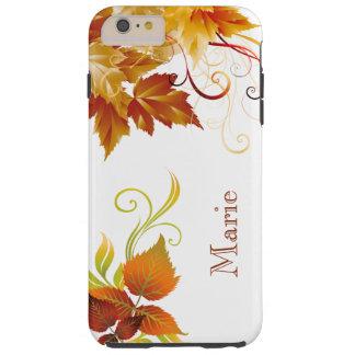 Personalized Autumn Spleandor iPhone Case