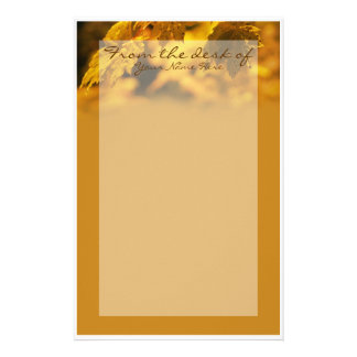 Personalized Autumn Stationery