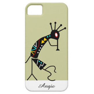 Personalized Aztec Southwest Tribal Kokopelli iPhone SE/5/5s Case
